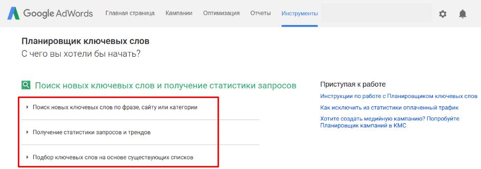 Google adwords слова как прорекламировать деловой костюм